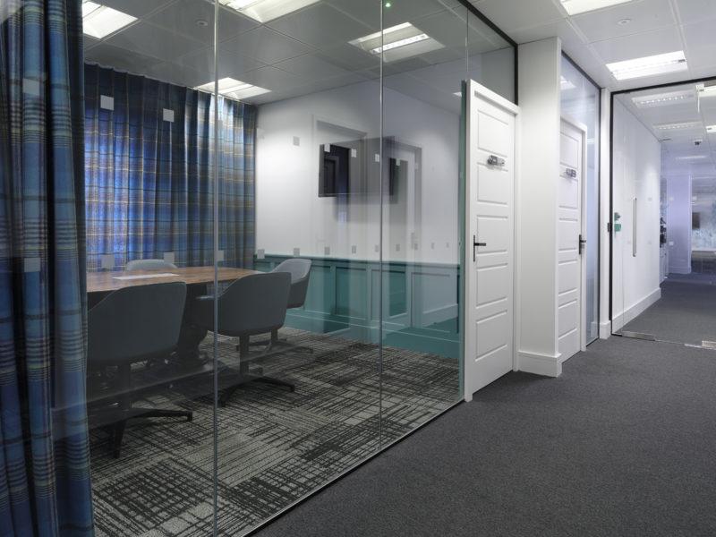 Mayfair office meeting room