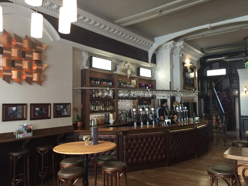 Newly refurbished pub and bar in London