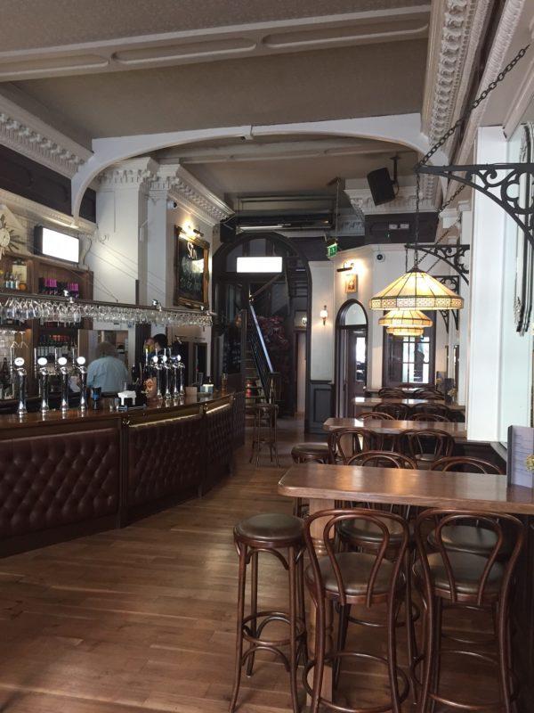 Newly refurbished classic English pub in London