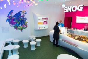 Frozen yoghurt store fit out