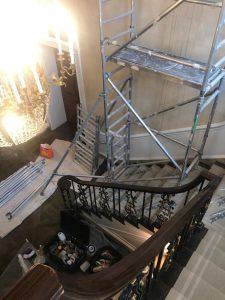 Scaffolding for internal restoration
