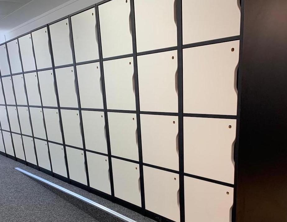 ProSapient lockers interior design